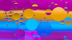 oil on water 2 (simo m.) Tags: abstract drops colorful vivid bright oil water 7dwf macro