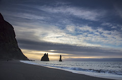 Reynisfjara beach (Jo Evans1- trying to catch up!) Tags: reynisfjara beach near vik iceland black sand reynisdrangar