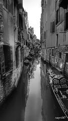 Venezia poco conosciuta, little known Venice (Massimo Vitellino) Tags: venice canal gondola outdoors hdr blackandwhite structure architecture abstract contrast conceptual romantic perspective old citylife city