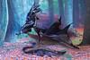 Night dragon (rkardragon) Tags: dragon art arttoy poseable toy fullposeable leatther handmade foto artists