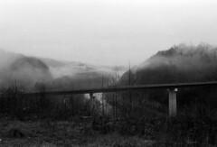Bell County, KY Bridge (Nickademus42 (Thank you for 1 million views)) Tags: film photography podcast project 35mm black white kodak double x xx 5222 nikonos ii