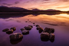 BEFORE DARK (midlander1231) Tags: lochmorlich scotland scottishhighlands highlands cairngorm cairngormmountainrange landscape waterscape sunset colouyrs nature