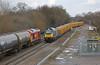 Oils & aggregates (DieselDude321) Tags: 68014 60020 class 68 60 chiltern railways db cargo schenker 6u77 1442 mountsorrel sidings crewe basford hall ssn 6e54 1034 kingsbury oil humber refinery stenson junction south derbyshire the willows