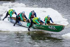 Il n'y a pas d'âge (Patrick Boily) Tags: canot course race glace ice fleuve river quebec levis tamron