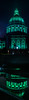 illuminated for the approaching st. patrick's holiday (pbo31) Tags: bayarea california nikon d810 night boury pbo31 march 2018 color panoramic panorama stitched sanfrancisco black civiccenter vannessavenue cityhall green stpatricksday holiday irish reflection fountain opera ballet