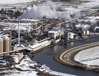 Cantley Sugar Factory aerial