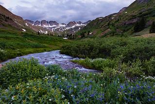 Blue Hour in American Basin