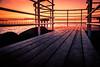 Bridge (Maria Eklind) Tags: building sunset water sweden ön colorful öresund malmö pink bridge stilllife sky bro solnedgång solljus himmel öresundsbron skånelän sverige se
