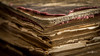 Macro Mondays - Imperfection (Michał Banach) Tags: canonef100mmf28lmacroisusm canoneos5dmarkiv henryksienkiewicz macromondays rodzinapołanieckich book corner imperfection macro old paper vintage