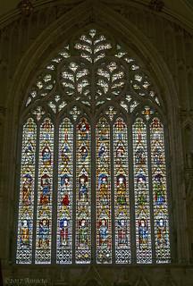West window of York Minster