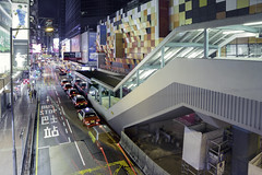 Argyle St (spiraldelight) Tags: ef24105mmf4lisusm eos5dmkiv hong kong 香港 night traffic trails 旺角 mongkok