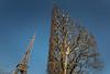Champ de Mars (andreas.zachmann) Tags: paris10ancienquartierinvalides eiffelturm fra frankreich himmel baum hecke formschnitt turm îledefrance stahlkonstruktion paris15