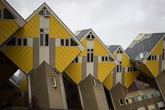 Cube houses, Rotterdam
