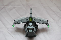 Galactic Force Hunter (sander_koenen92) Tags: lego space moc ship fighter
