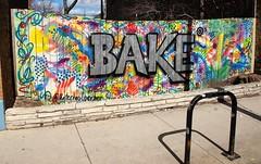 BAKE (Brule Laker) Tags: chicago illinois humboldtpark nearnorthwestside signs painting outdoorart wickerpark