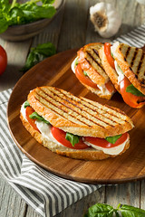 Healthy Grilled Basil Mozzarella Caprese Panini (brent.hofacker) Tags: appetizer background baguette basil basilmozzarellapanini bread caprese capresepanini capresesandwich cheese ciabatta delicious diet food fresh gourmet green grilled healthy italian leaf lunch meal mediterranean mozzarella nutrition oil olive organic panini red rustic salad sandwich snack toast toasted tomato vegetable vegetables vegetarian veggie