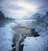 Vermilion Lakes (Zeb Andrews) Tags: zeroimagepinhole pinhole kodakektar100 vermilionlakes alberta canada banff landscape colorfilm canadianrockies winter zeroimage2000 6x6 coldmornings lensless