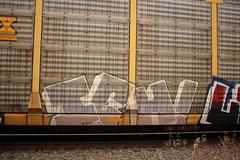 Ich (NJphotograffer) Tags: graffiti graff trackside track railroad rail art freight train bench benching autorack autoracks ich ichabod yme circlet circle t crew