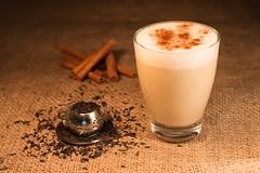 Chai Latte (Theo Crazzolara) Tags: chailatte chai latte tea tee milk milch delicious beautiful cinnamon zimt spicery spices romantic drink food foodporn stilllife coffee cafe hot warm