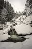 Wintergreen (Omnitrigger) Tags: vernalfalls yosemite nationalpark california snowstorm marchsnow waterfall powder canyon nature winter
