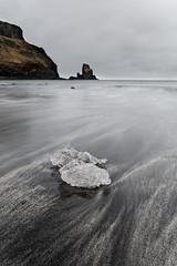 Talisker Bay (Johan Konz) Tags: taliskerbay isleofskye skye scotland ocean sea water black beach iceblock ice sky rockformation rock longexposure outdoor landscape seacape nikon d7500