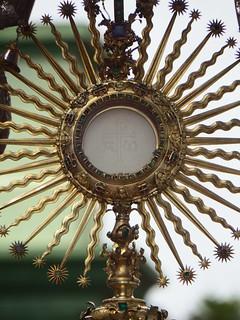 Custodia Eucarística, Eucharistic Monstrance
