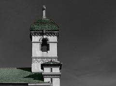 Régua (hans pohl) Tags: portugal porto régua churchs eglises toits roofs tours towers architecture noiretblanccoloré blackandwhite recoloured