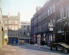 Folgate Street Spitalfields - when? (kingsway john) Tags: london e1 eastendincolour davidgranick hoxtonminipress tower model plastic kit