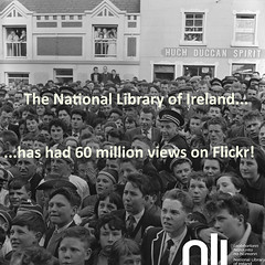 60,000,000 Flickr Views - Thanks to you (National Library of Ireland on The Commons) Tags: flickr views flickrviews ireland 60m 60million nationallibraryofireland nli flickerooneys photo detectives photodetectives dunglow dungloe countydonegal crowd expressions band audience 60000000 milestone hughduggan