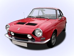 SIMCA 1200 S (1962-1971) (fernanchel) Tags: gimp vehiculo simca classic clasico coche