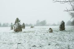 Duloe Stone Circle (Martin F Hughes) Tags: martin hughes canon 7d mkii mk2 cornwall duloe snow southwest looe stone circle 2000bc