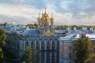 Catherine palace. Clouds 1.