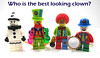 Who is the best looking clown? (WhiteFang (Eurobricks)) Tags: lego collectable minifigures series city town space castle medieval ancient god myth minifig distribution ninja history cmfs sports hobby medical animal pet occupation costume pirates maiden batman licensed dance disco service food hospital child children knights battle farm hero paris sparta historic brick kingdom party birthday fantasy dragon fabuland circus