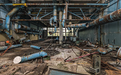 iron octupus (Andy Schwetz ( andyschwetz,de)) Tags: urbex abandoned lostplace chernobyl pripyat jupiterfactory decay exclusionzone fallout accident ironcurtain coldwar abbandonata verfall tschernobyl andyschwetz fotografmünchen