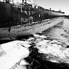 Le moment de panser ses plaies... (woltarise) Tags: montréal navire glace saintlaurent fleuve vieuxport
