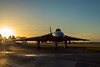 Avro Vulcan B2 XL426 at sunset (Steven Whitehead) Tags: avro vulcan 2018 airshow aircraft airfields airoplane airfield flying flypast canon canon5dmk4 sunset bomber bomb