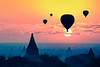 Hot air balloon over plain of bagan in misty morning, Mandalay Myanmar (Patrick Foto ;)) Tags: above air amazing ancient architecture asia background bagan balloon balloons beautiful buddhist building burma burmese city culture east fog heritage hot landmark landscape mandalay many mist misty morning myanmar nature old outdoor over pagoda religion religious sacred scenic silhouette sky stupa summer sun sunrise sunset temple tour travel twilight view nyaungu mandalayregion myanmarburma mm