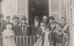 Ascoli com'era: una visita di . . . baffuti (1920) (Orarossa) Tags: 2130230 italy italia marche ascolipiceno visita baffuti 1920