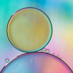 Time for a little more colour! (susie2778) Tags: olympus omdem1mkii 60mmmacrof28 oilandwater macro studio colourful water waterdrop ipad