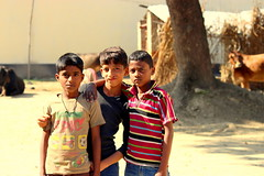 Boys (Bharat Manjori) Tags: boys kids uttarpradesh india incredibleindia indianvillage happiness happy villageboys