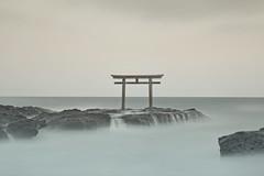 藍白  あいしろ (小川 Ogawasan) Tags: japan japon le toned color torii shinto masterpiece fineart longexposure nd 16stop 160s