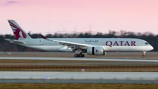 Qatar Airways A350.