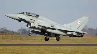 ZJ814/814 TYPHOON 29sqn RAF