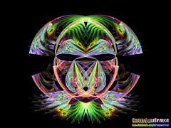 Tribal Gnarl (CopperScaleDragon) Tags: tribal gnarl sosa jwildfire fractal