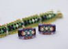 Carrier Beads (BeeJang - Piratchada) Tags: beadweaving beading beadwork handmade carrier beads swarovski pearl delica peyote