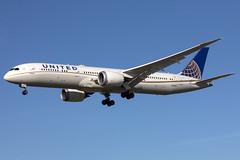 IMG_1067 (Charlie_tj) Tags: united airlines ual boeing 787 airliner avion spotting aviacion n29968 klax lax