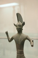various 400-500BC bronze figures. Rome Spring 2018 National Etruscan Museum at the Villa Julia. (Kevin J. Norman) Tags: italy rome etruscan villa julia giulia etrusca juliusiii