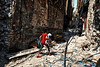 A girl runs away to save her life and her doll in the street of Mosul (rvjak) Tags: wall mur war guerre girl fille poupée doll mossoul mosul ruine ruin soldat soldier d750 nikon irak iraq middleeast moyenorient
