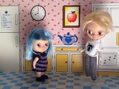 Blythe-a-Day#2. A Person's a Person, No Matter How Small: Hildy & Leo