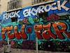FUCK SKYROCK (Doubichlou14) Tags: marseille massilia bouches du rhone 13 france street art rue cours julien fuck skyrock politique graffiti anywhere protest political democracy social change